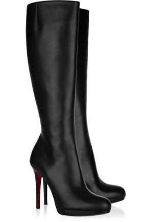 Christian Louboutin Leather Knee Highs