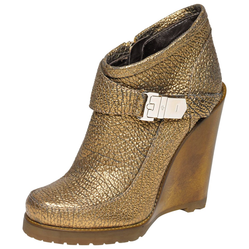 Mulberry Gold Tillie Bootie