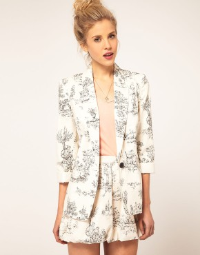 Asos.com Scenic Print Suit  Blazer £52 & Shorts £22