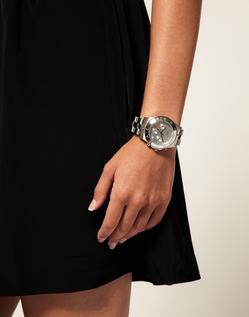 Marc by Marc Jacobs Silver Watch/ £200/ asos.com