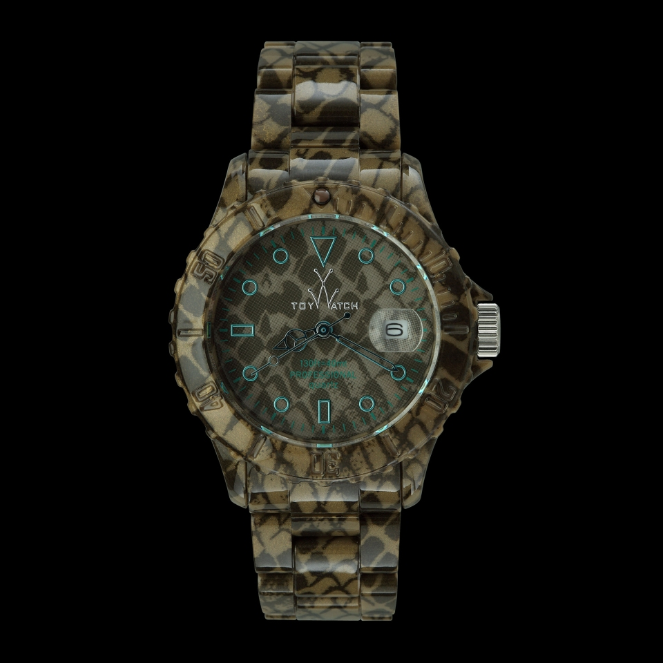 Toy Watch Imprint Python/£140/ toy-watch.co.uk