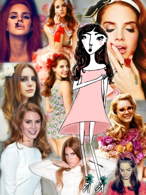 Lana Del Rey in Bloom