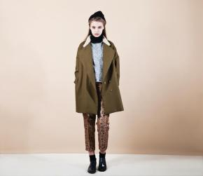 Mitzi coat and Maxine trousers