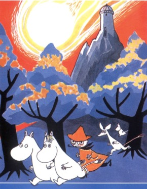 The  Moomins by Tove Jansson