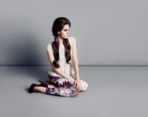 Lana Del Rey in H & M Fall 2012 Campaign