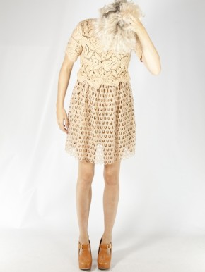 tba Lena B Lace dress/£229.95