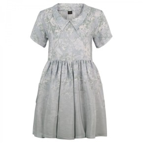 Dalston Candy Silk Smock dress