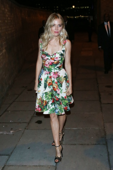 Sienna Miller seen at BMW i3 Global Reveal and Party at Old Billingsgate in London