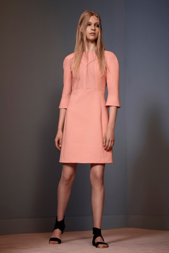 Victoria by Victoria Beckham, S:S 13-14, Long-Sleeved-High-Waist-Dress_b_592x888