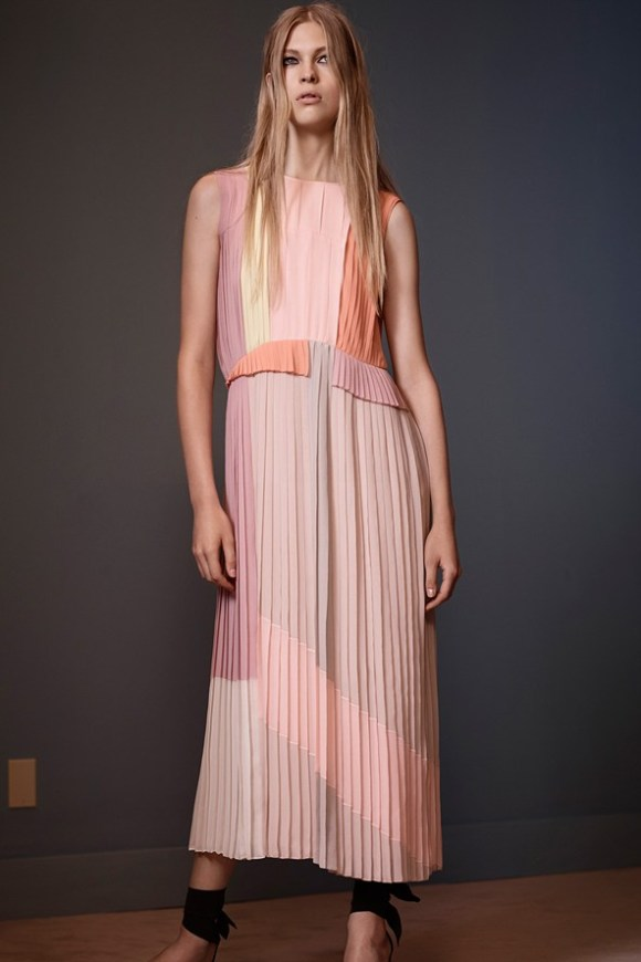 VVB-SS14-Colour-Block-Pleated-Midi