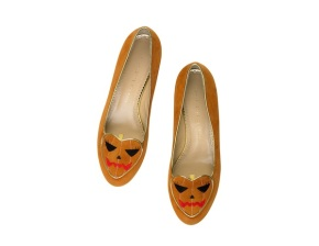 Charlotte-Olympia-Halloween-2013-Collection-Trick-or-Treat-Flats-in-Orange