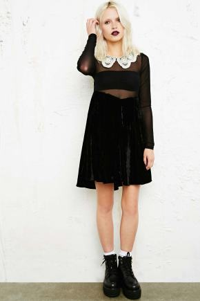 Unif Collar Detail Dress £100.00