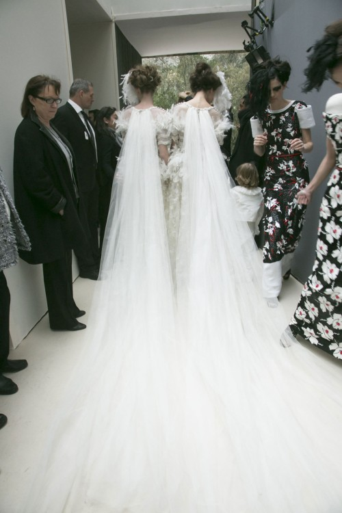 Chanel Haute Couture Spring:Summer 2013 Backstage
