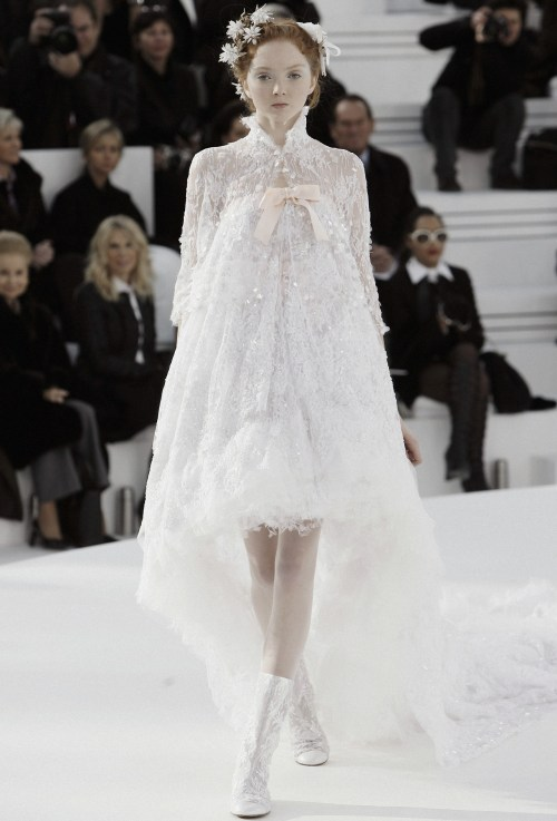 Lily Cole closing Chanel Haute Couture Spring:Summer 2006