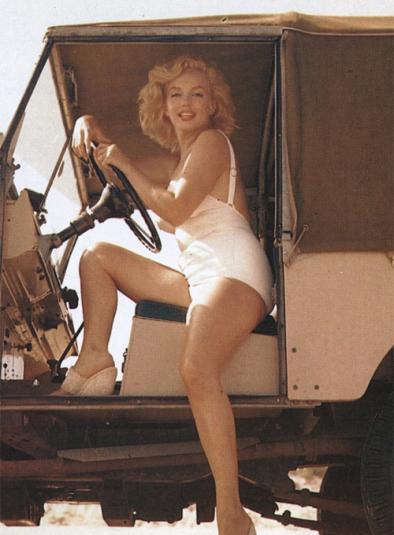 Marilyn Monroe photo by Sam Shae 1957